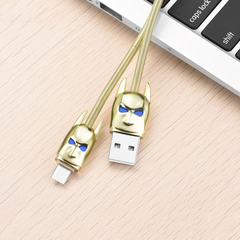 Hoco U30 Shadow Knight type-c charging cable