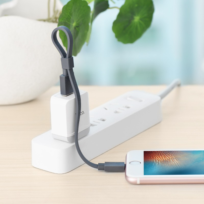Hoco U34 LingYing dual-use charging cable(L=0.25M)