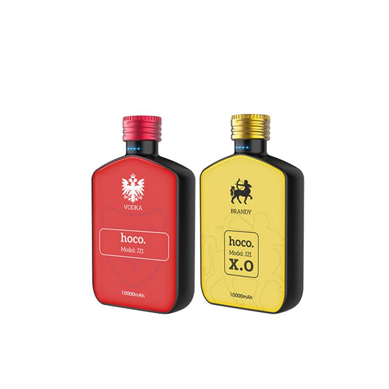 Hoco J21 vintage wine series mobile power bank(10000mAh)