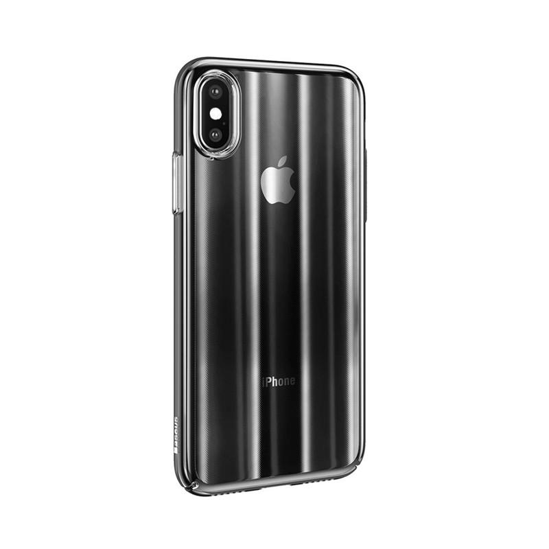Baseus Aurora Case Transparent Black