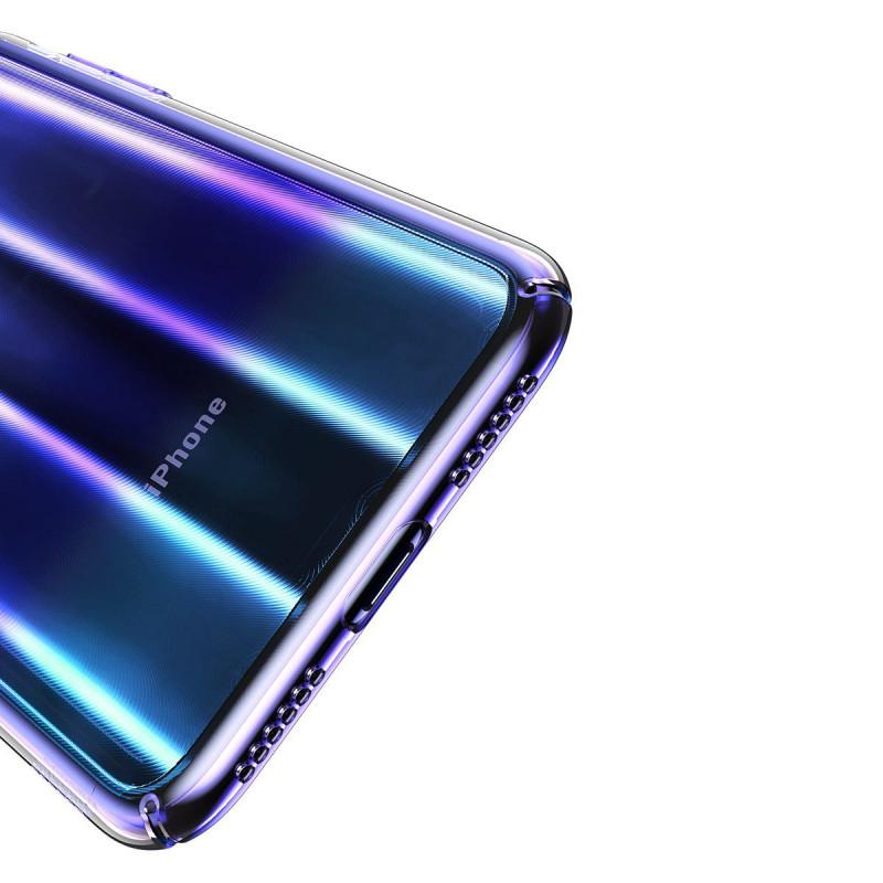 Baseus Aurora Case Transparent Blue