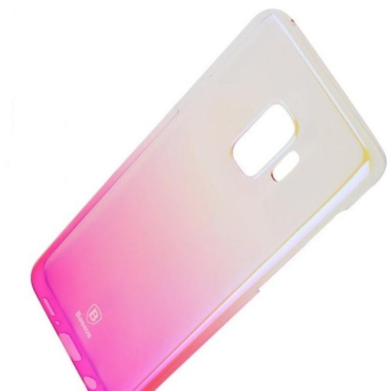 Baseus Glaze Case For S9 Pink