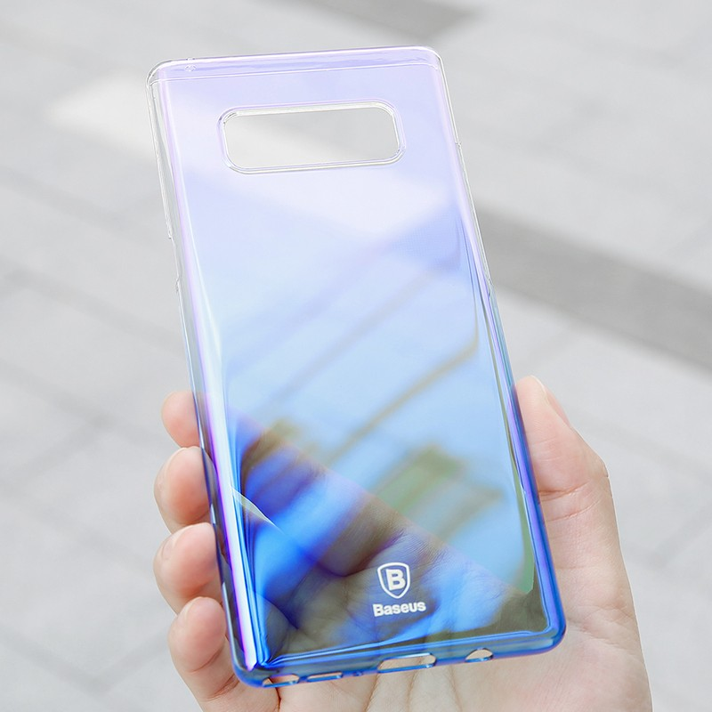 Baseus Glaze Case For SAMSUNG Galaxy Note 8 Blue