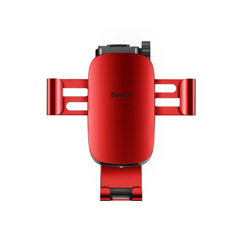 Baseus Metal Age Gravity Car Mount(Air Outlet Version)Red