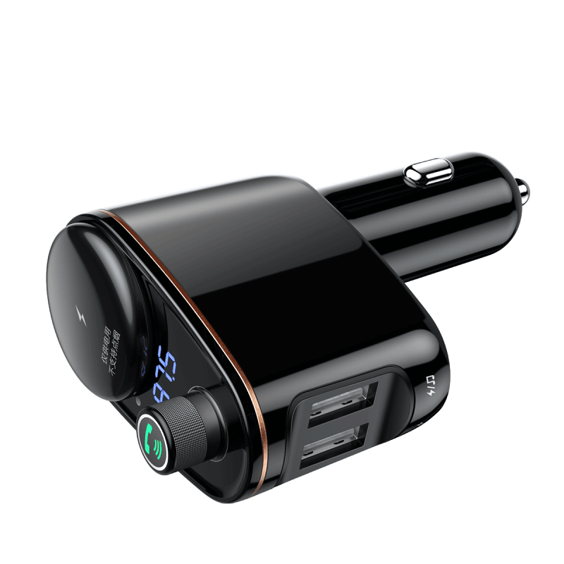 Baseus Locomotive Bluetooth MP3 Vehicle Charger Black