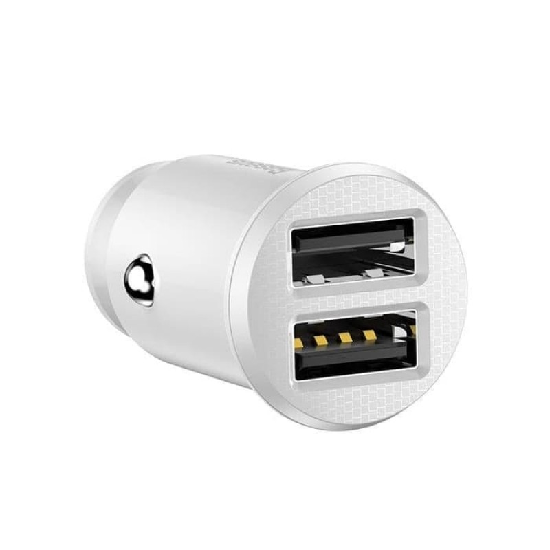 Baseus Grain Car Charger White
