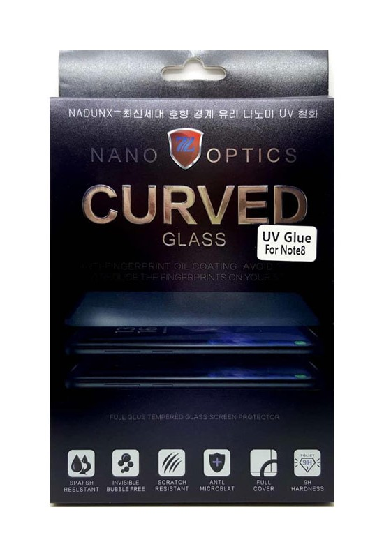 Nano Curved Glass UV